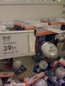 Ljusplugg LED skymningsrelä nattljus