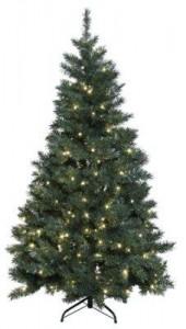 julgran komplett med lampor